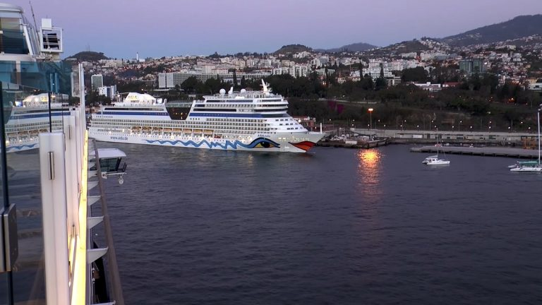 Hafen Funchal Aida