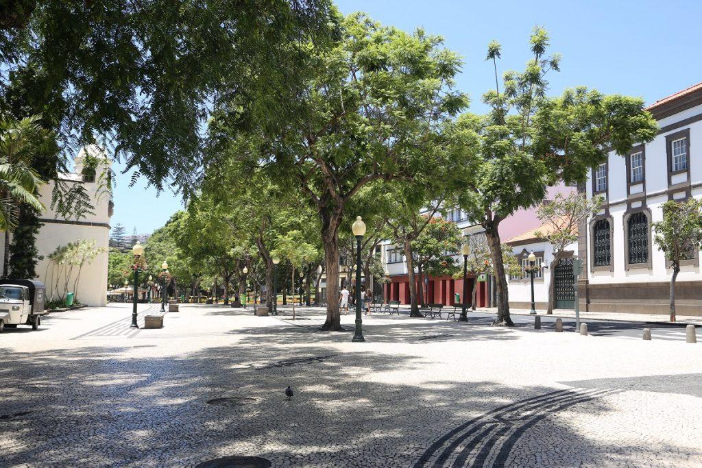 Funchal Fußgängerzone Avenida Arriaga