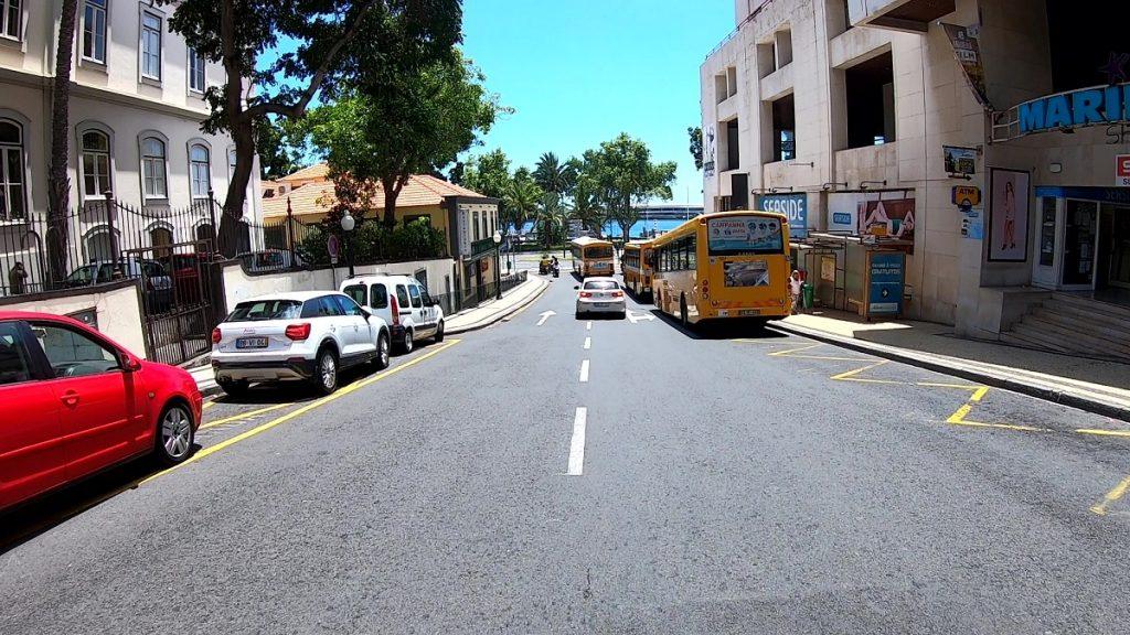 Strassenverkehr Madeira