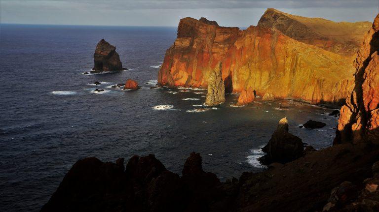 Ponta Sao de Lourenco - Küstenwanderung