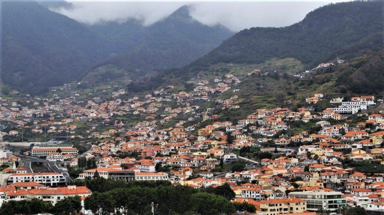 Stadtbild Machico