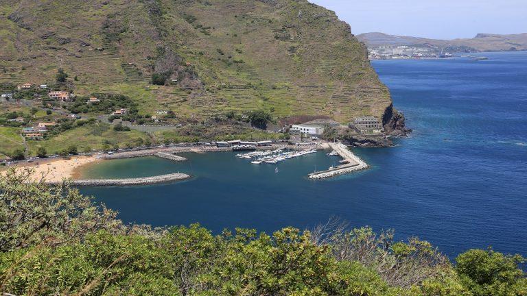 Machico Madeira Hafen