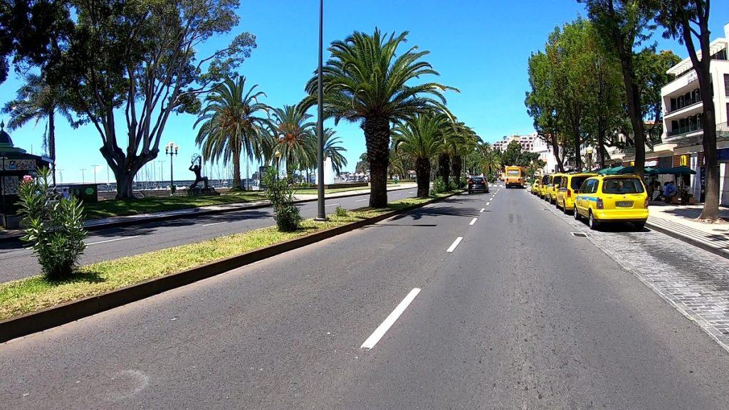 Taxi fahren auf Madeira