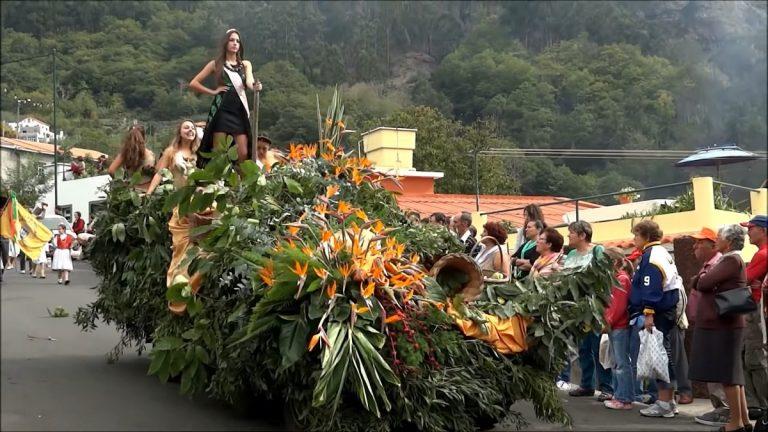 Nonnental Tour auf Madeira beim Kastanienfest!