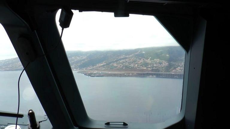 Landebahn Flughafen Madeira